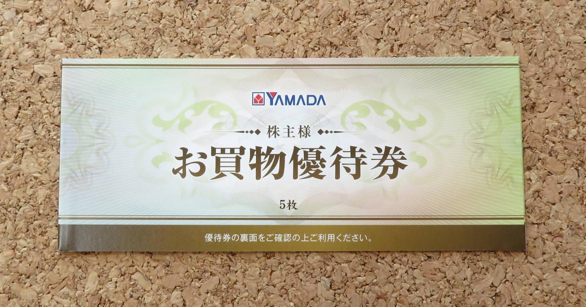 ヤマダ電機の株主優待が到着