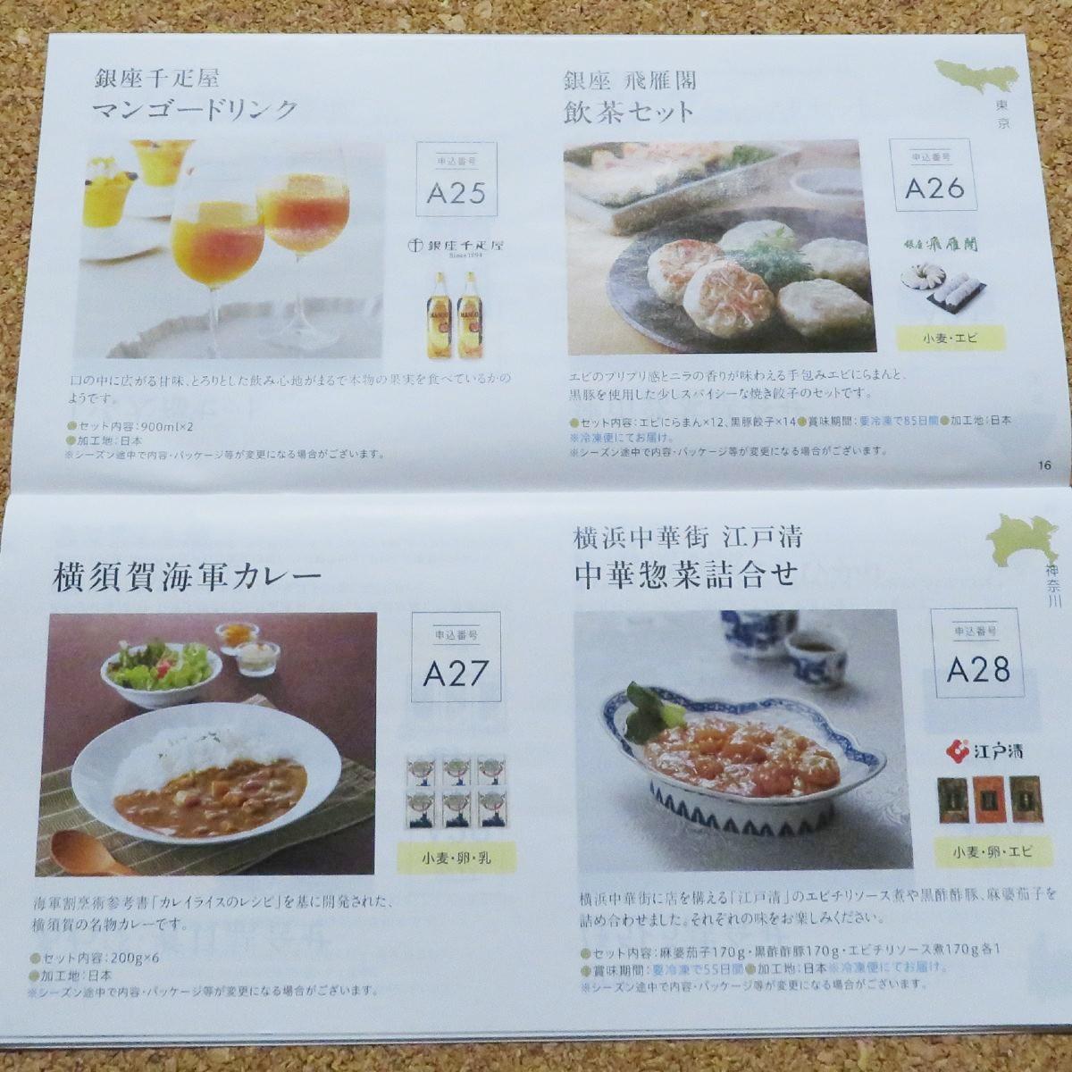 KDDIの株主優待カタログ